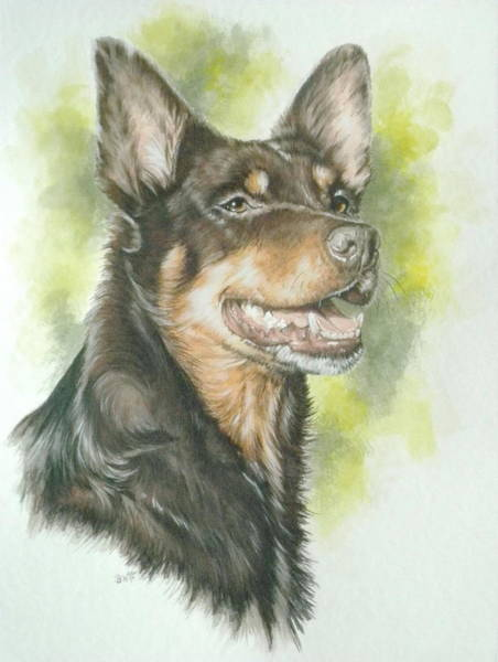 Painting - Titch by Barbara Keith