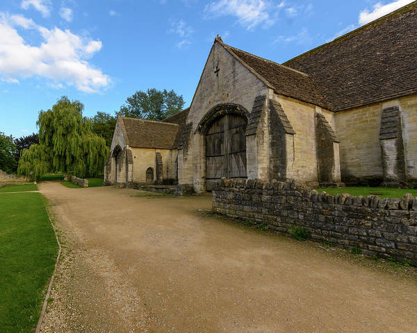 Photograph - Tithe Barn A In Bradford-on-avon by Jacek Wojnarowski