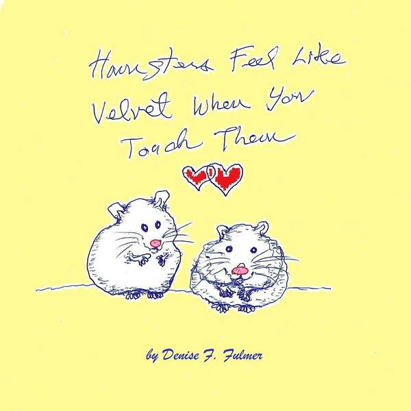 Hamster Drawing - Title Page For Hamster Book by Denise F Fulmer