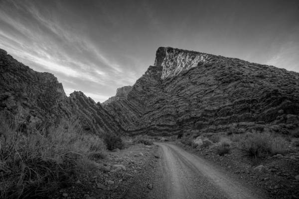Photograph - Titus Canyon Road by Peter Tellone