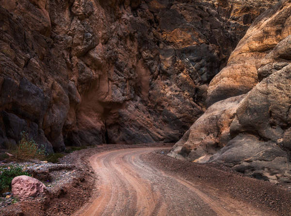 Wall Art - Photograph - Titus Canyon Road by Thorsten Scheuermann