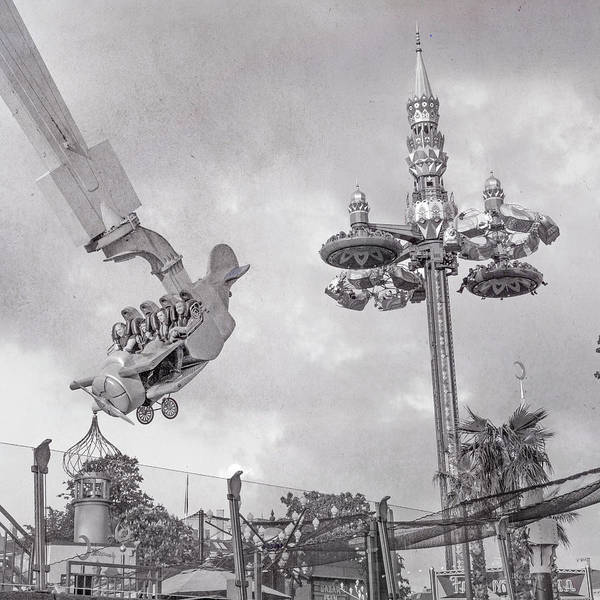 Wall Art - Photograph - Tivoli Fly And Spin  by Betsy Knapp
