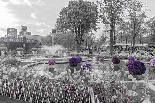 Wall Art - Photograph -  Tivoli Gardens Singled Out by Betsy Knapp