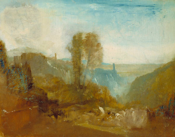 Painting - Tivoli The Cascatelle by Joseph Mallord William Turner