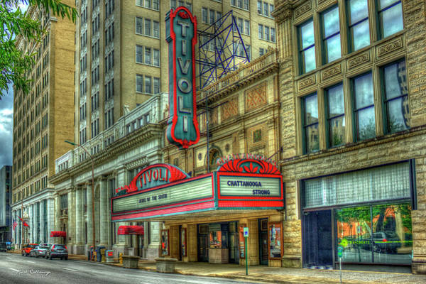 Photograph - Tivoli Theater Jewel Of The South Historic Chattanooga Tennessee Art by Reid Callaway
