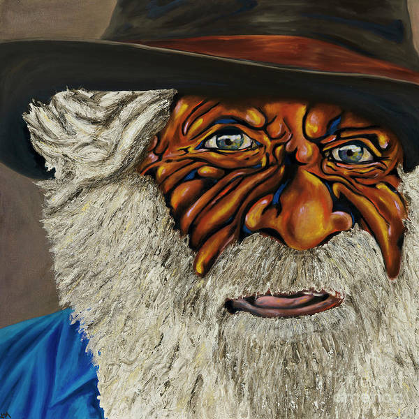 Aborigine Painting - Tjuntjunjarra Man by Lisa Bussett