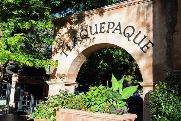 Wall Art - Photograph - Tlaquepaque Entrance - Sedona Arizona by Jon Berghoff