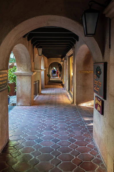Wall Art - Photograph - Tlaquepaque Shopping - Sedona Arizona by Jon Berghoff