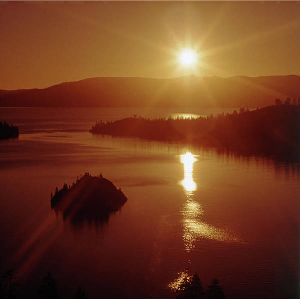 Photograph - Tm6204 Sunrise Over Emerald Bay by Ed Cooper Photography