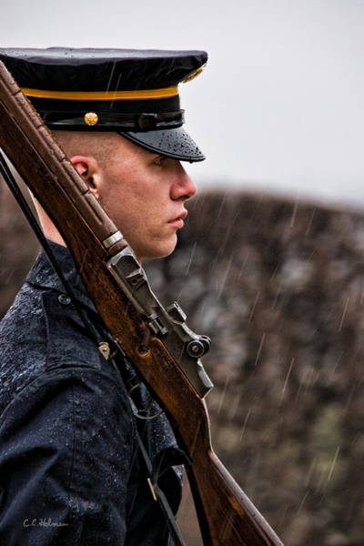 Photograph - To Guard With Honor by Christopher Holmes