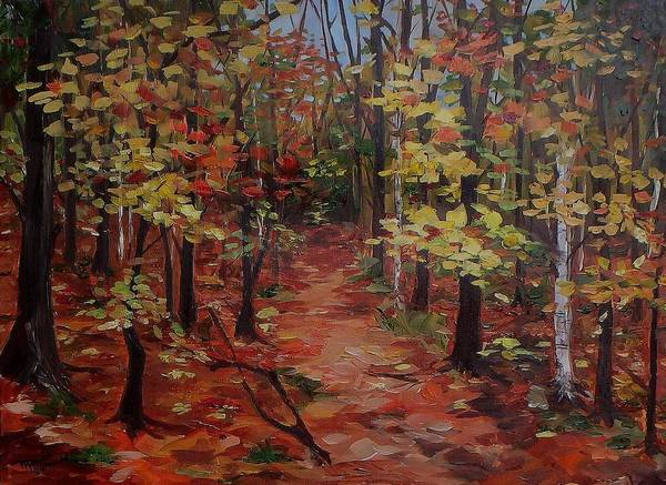 Painting - To The Artist Cabin, Killarney by Monica Ironside
