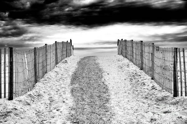 Photograph - To The Beach At Lbi by John Rizzuto