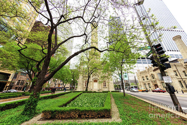 Wall Art - Photograph - To The Chicago Water Tower by John Rizzuto