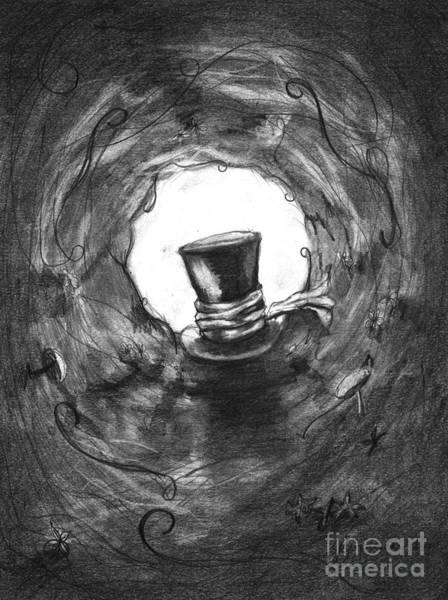 Alice Drawing - To Wonderland by J Ferwerda