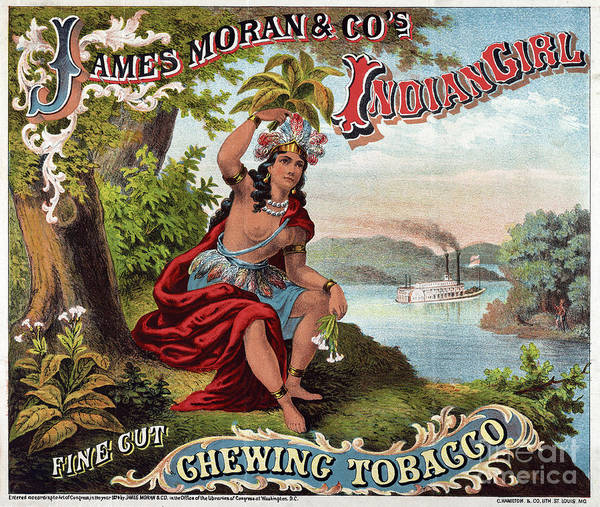 Drawing - Tobacco Label, C1874.  by Granger