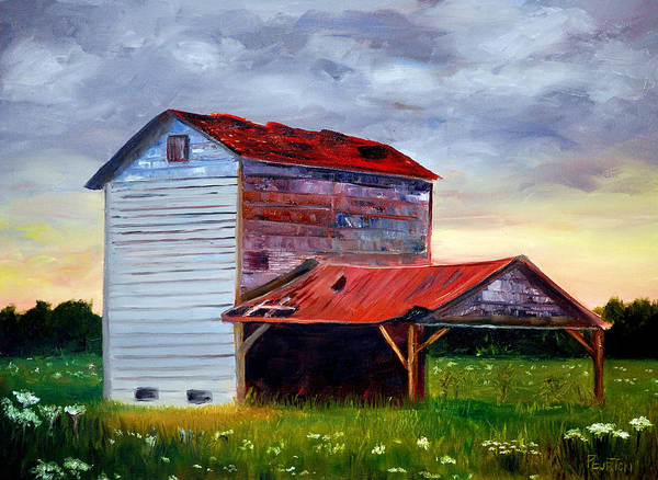 Painting - Tobacco Road by Phil Burton