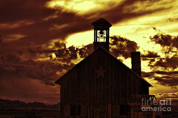 Photograph - Tobacco Skies by Jim Garrison