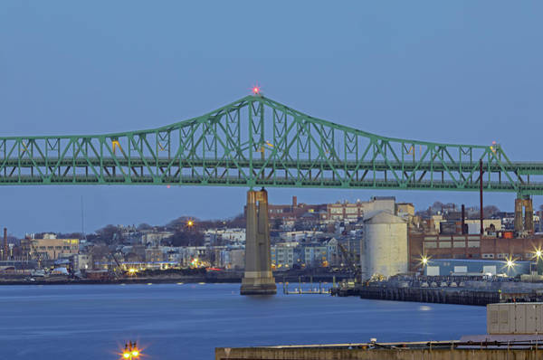 Photograph - Tobin Bridge by Juergen Roth