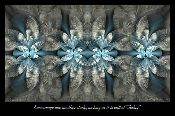 Digital Art - Today by Missy Gainer
