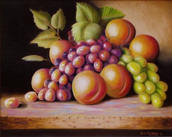 Painting - Todays Harvest by Gene Gregory