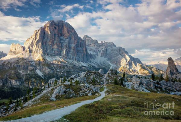 Photograph - Tofana De Rozes - Dolomites by Brian Jannsen