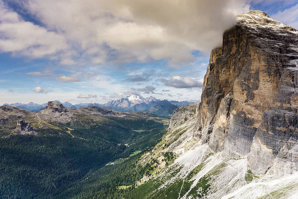 Dolomites Photograph - Tofana Di Rozes by DiFigiano Photography