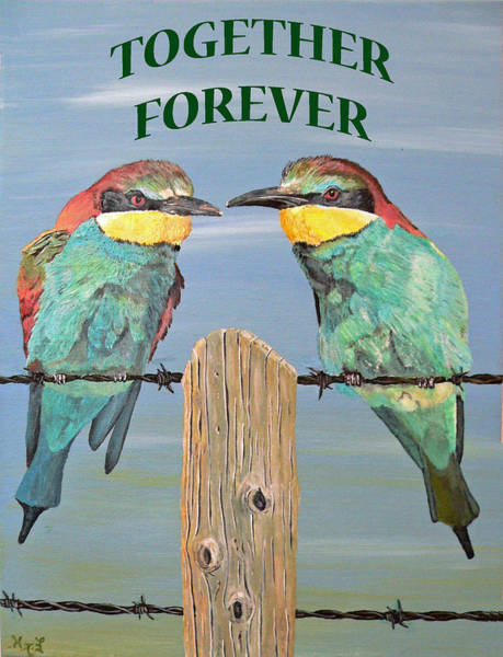 Painting - Together Forever by Eric Kempson
