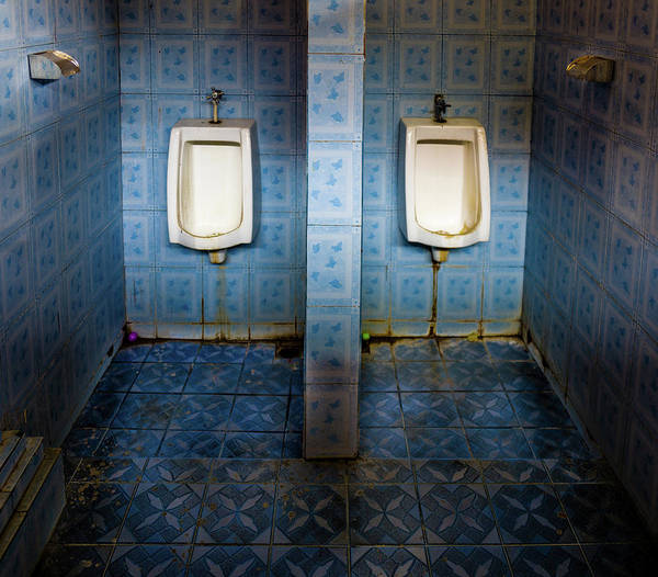 Photograph - Urinal by M G Whittingham