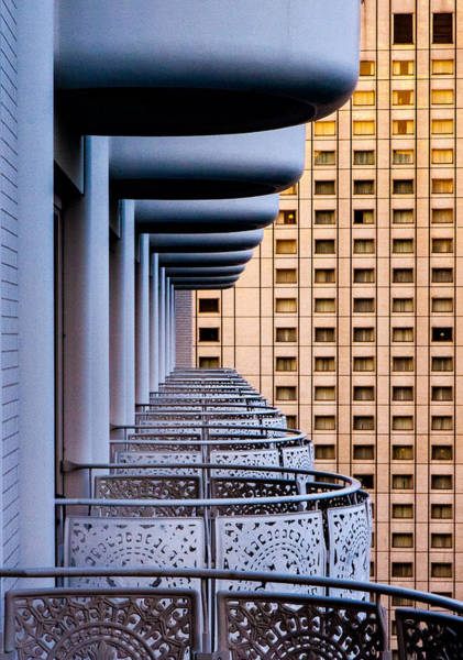Hotels Photograph - Tokyo Balconies by Jay Heiser