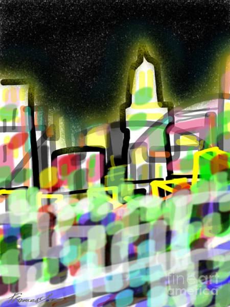 Painting - Tokyo Buzz by Frances Ku