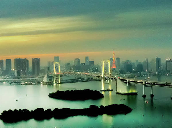 Japanese Culture Photograph - Tokyo Cityscape by Dreaming life