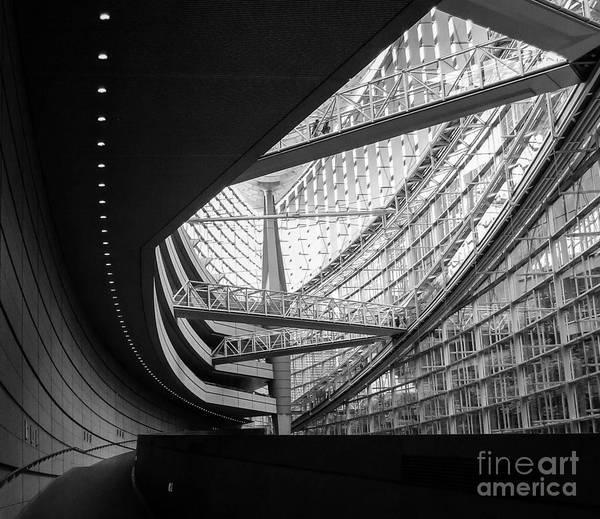 Photograph - Tokyo International Forum 2 by Andrea Anderegg