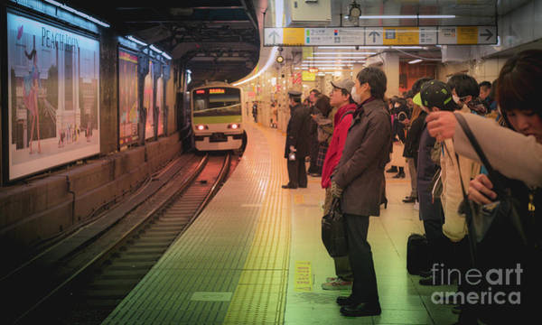 Art Print featuring the photograph Tokyo Metro, Japan by Perry Rodriguez
