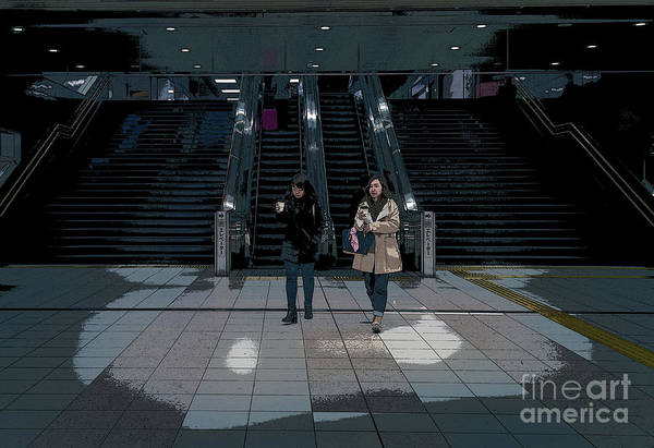 Art Print featuring the photograph Tokyo Metro, Japan Poster by Perry Rodriguez