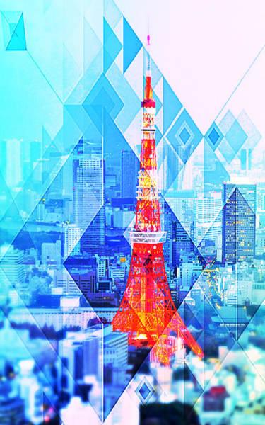 Mixed Media - Tokyo by Michelle Dallocchio