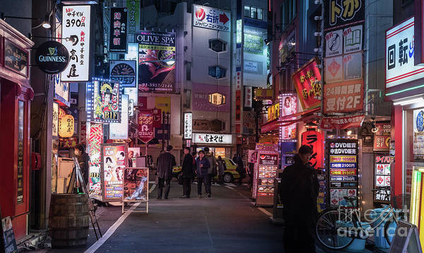 Photograph - Tokyo Side Streets, Japan 3 by Perry Rodriguez