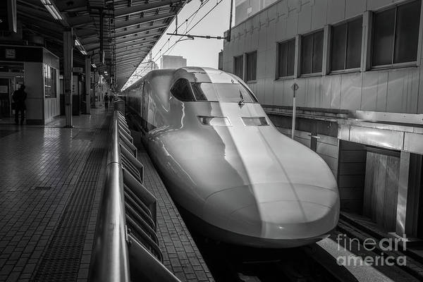 Art Print featuring the photograph Tokyo To Kyoto Bullet Train, Japan 3 by Perry Rodriguez