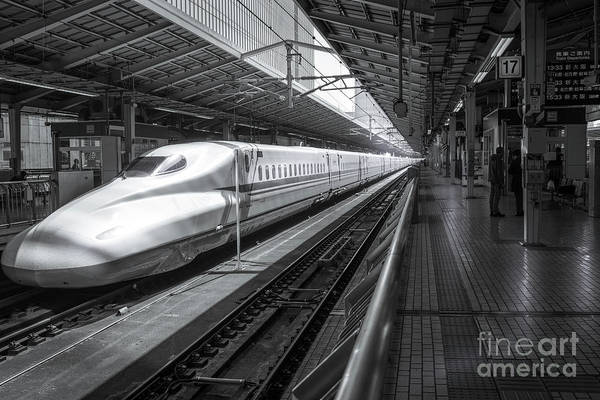 Photograph - Tokyo To Kyoto, Bullet Train, Japan by Perry Rodriguez