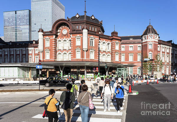 Photograph - Tokyo Train Station by Didier Marti