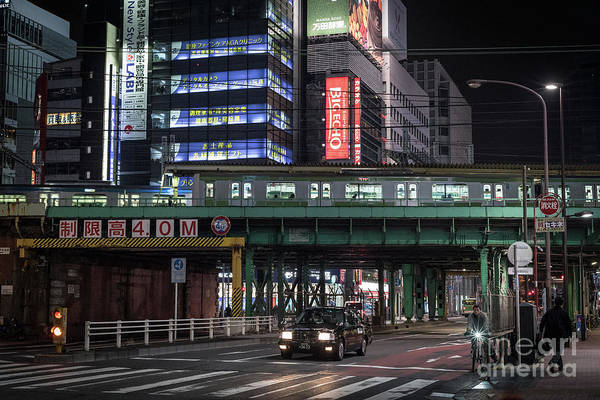 Art Print featuring the photograph Tokyo Transportation, Japan by Perry Rodriguez