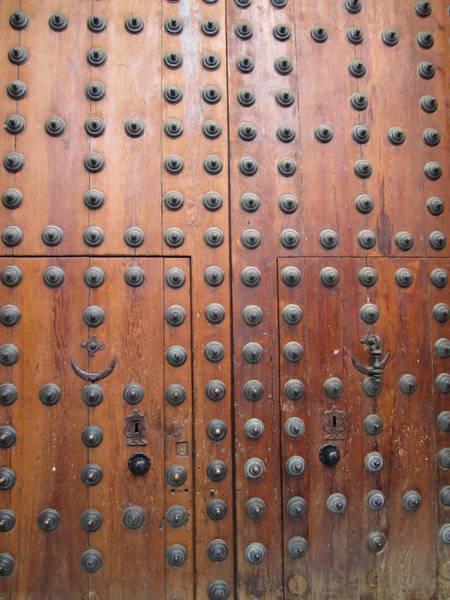 Photograph - Toledo Antique Door by John Shiron