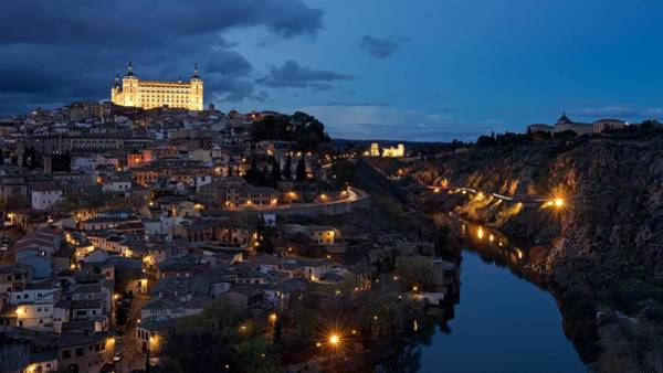 Photograph - Toledo At Night by Stephen Taylor
