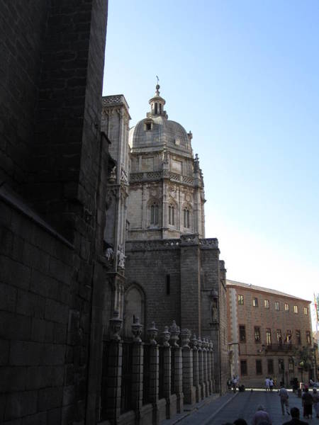 Toledo Cathedral In Sight Art Print