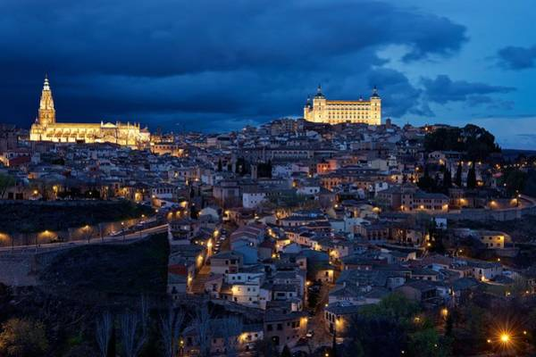 Photograph - Toledo Citadel by Stephen Taylor
