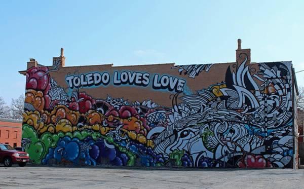 Toledo Loves Love Art Print