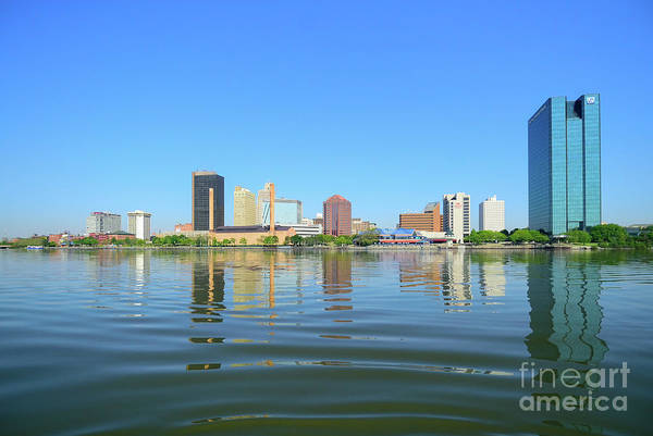 D12u-673 Toledo Ohio Skyline Photo Art Print