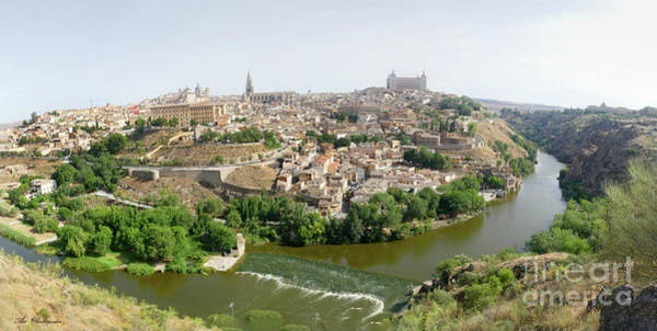 Photograph - Toledo, Spain Panoramic View by Arik Baltinester