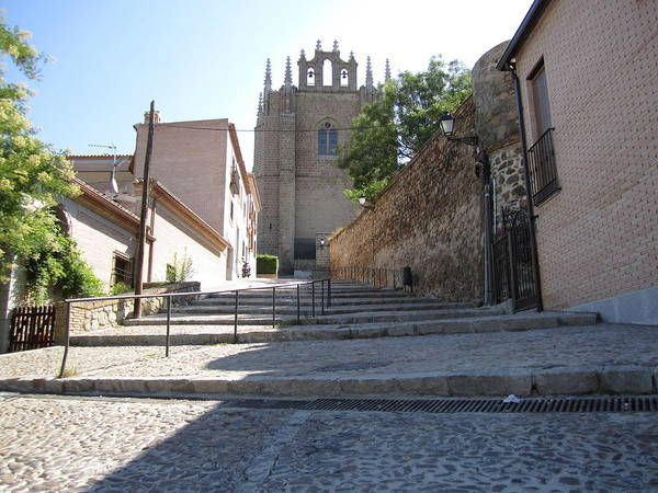 Photograph - Toledo Steps To Cathedral II by John Shiron