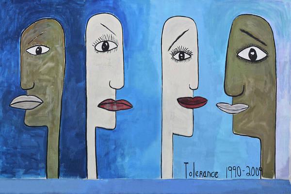 Wall Art - Photograph - Tolerance-graffiti by Joachim G Pinkawa