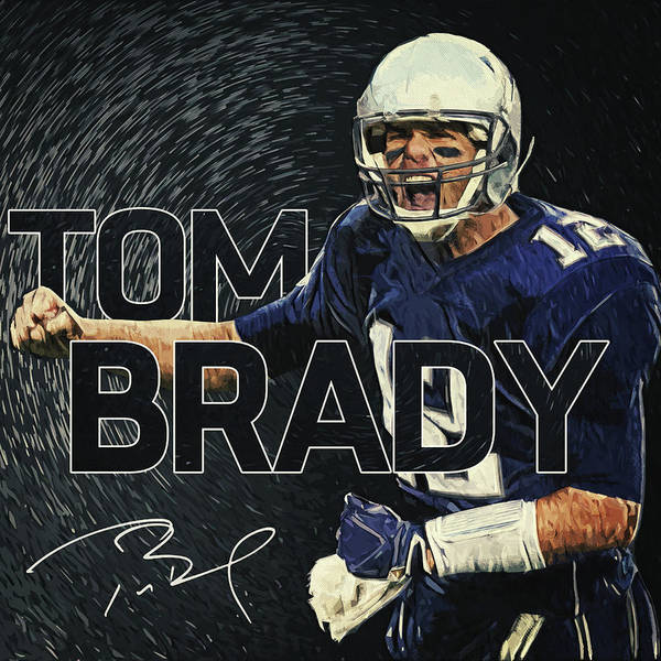 Digital Art - Tom Brady by Zapista Zapista